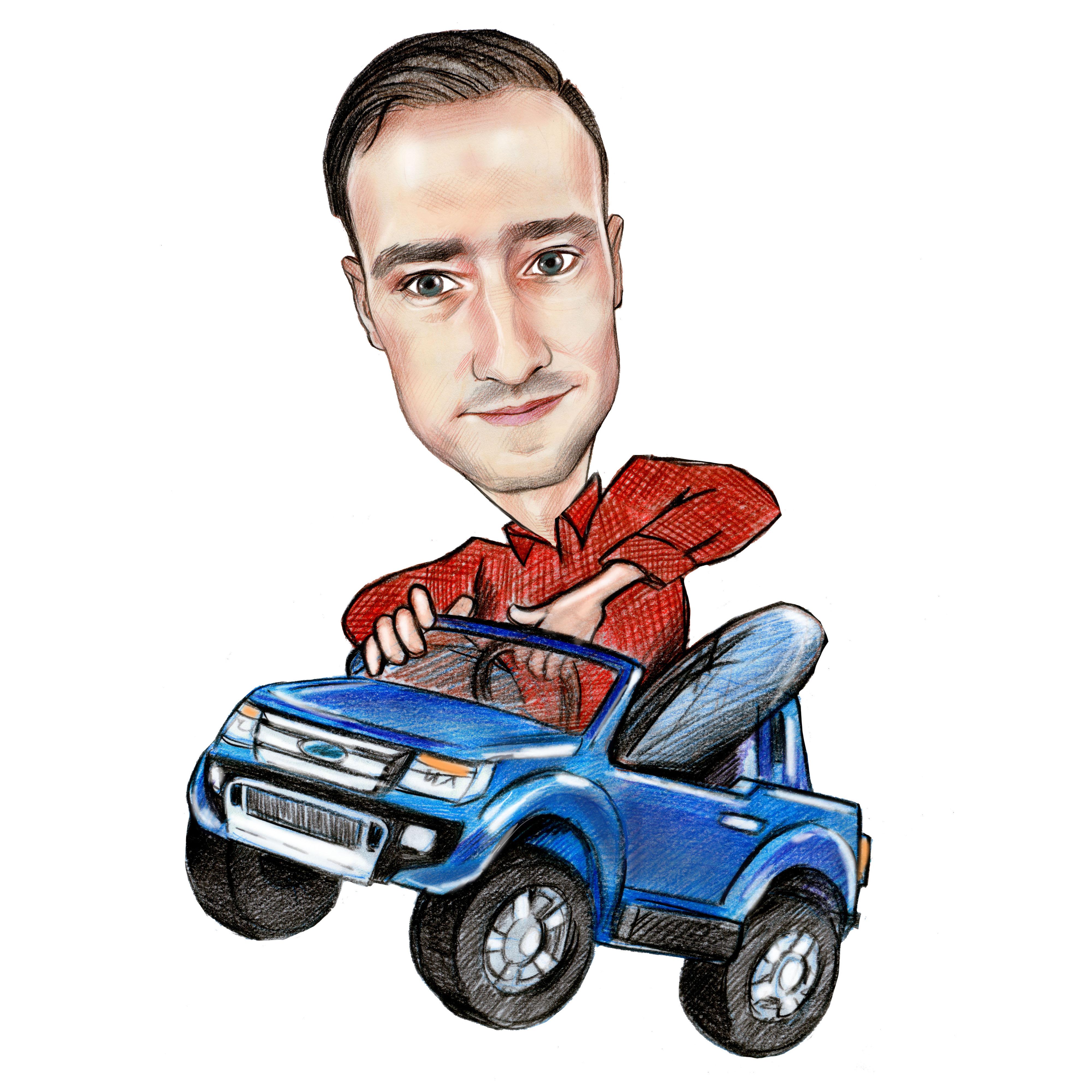 Le Ford Ranger de l'expert Kiddi Quad