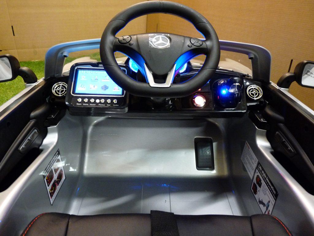 voiture électrique enfant avec écran tactile