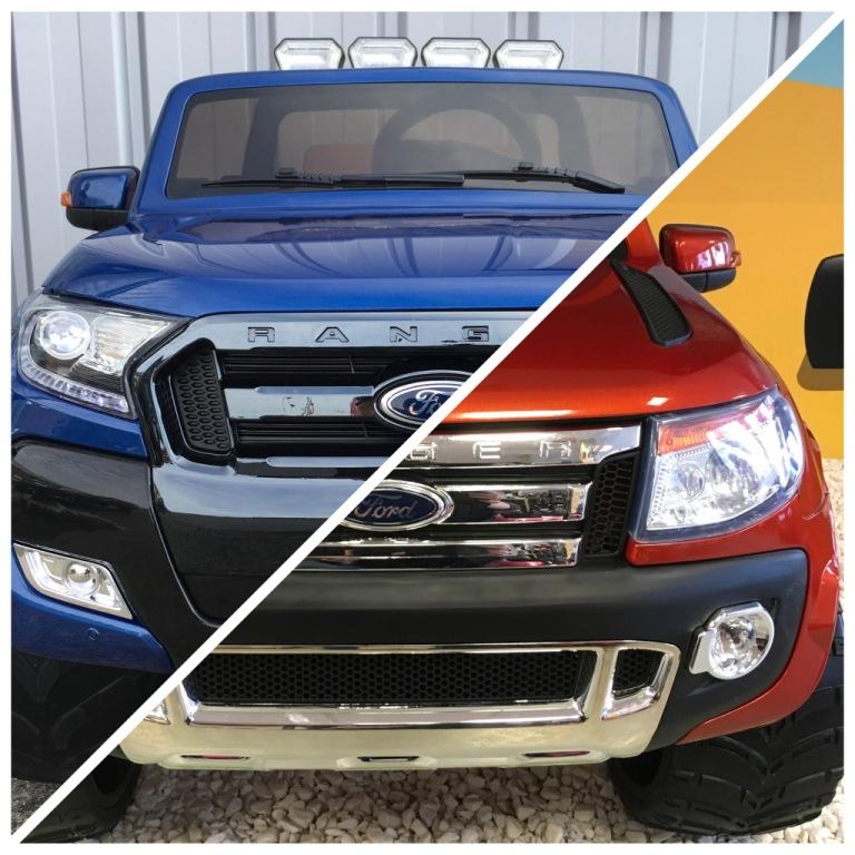 Ford Ranger Phase 2 vs Ford Ranger Version Luxe 12 volts