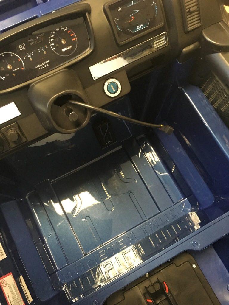 contacteur à clé monster truck 12 volts