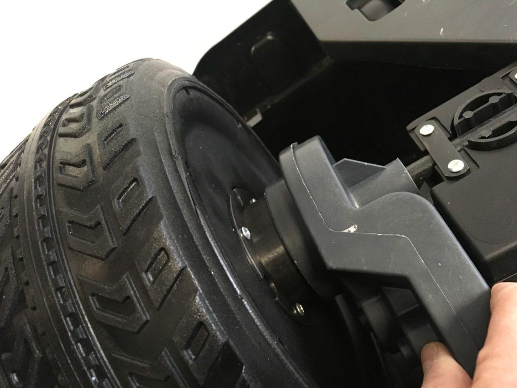 moteur et roue de camion 24 volts pour enfant
