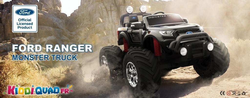 monster truck 12 volts enfant kiddi quad
