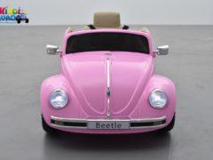 beetle rétro 12 Volts pour enfant rose