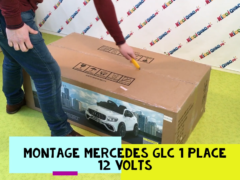 comment assembler mercedes GLC 12 Volts