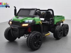 tracteur 6x6 24 volts 4 moteurs enfant kiddi quad
