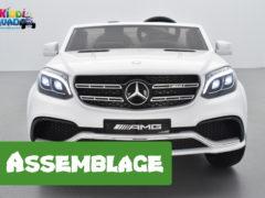 comment monter facilement votre Mercedes GLS 63 12 Volts facilement ?