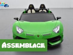comment assembler Lamborghini 24 Volts SVJ