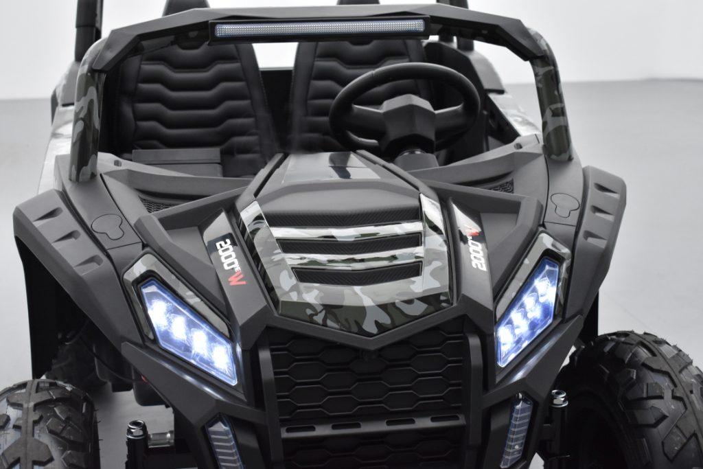 le buggy big horn pro 24V pour enfants de 6 ans