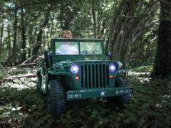 jeep willys 24 volts enfant kiddi quad
