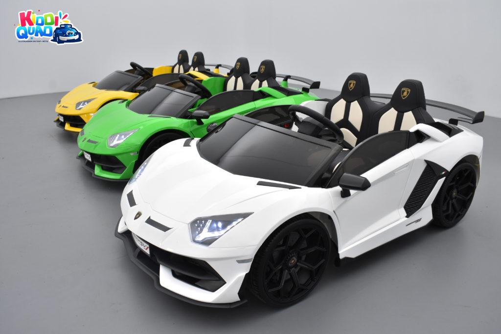 Lamborghini SVJ 24 Volts 2 places kiddi quad